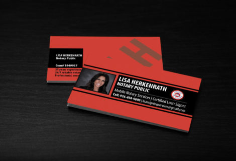 Lisa Herkenrath – Business Cards