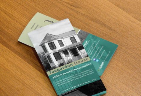 Teegarden House – Trifold Brochure
